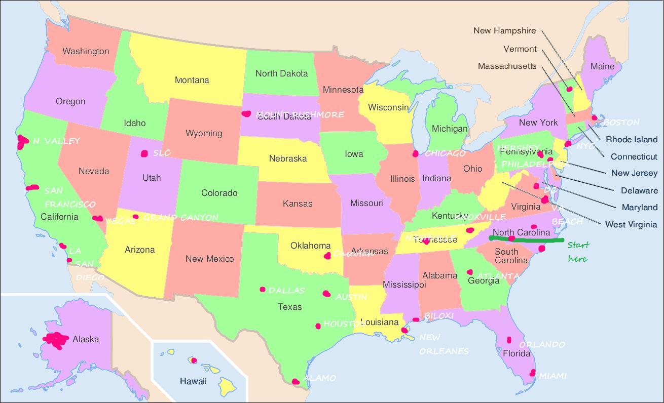Mapa De Usa Estados.Filadelfia Mapa Usa Estados Unidos Mapa De Filadelfia